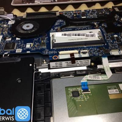 Dzisiaj serwis odwiedził klient z laptopem Lenovo 80JH