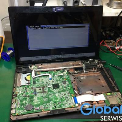 Dzisiejsze zlecenie : Laptop Lenovo 💻Opis usterki : Brak zasilania.