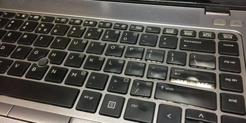 Twój komputer został zalany ?