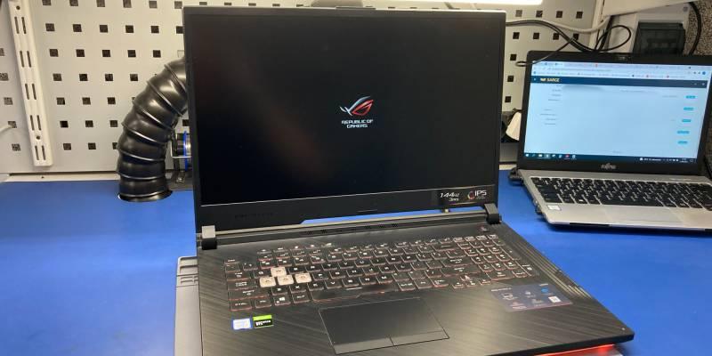 Laptop gamingowy ASUS ROG